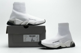 2020.08 Super Max Perfect Belishijia Speed Clear Sole Sneaker White Black Men And Women Shoes - LY (19)