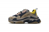 2020.8 Authentic Belishijia Triple S Grey Yellow Men And Women Shoes -LY (107)