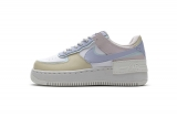 2020.08 Nike Super Max Perfect Air Force 1 Shadow White Ghost Women Shoes (98%Authentic)-LY (86)