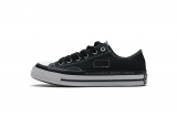 2020.08 Fragment x Moncler Super Max Perfect Converse CTAS LIFT OX Black White Men And Women Shoes-LY (61)