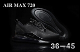 2020.09 Nike Air Max 720 AAA Men And Women Shoes -BBW (161)