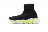 2020.09 Super Max Perfect Belishijia Stretch Mesh High Top Sneaker Black White Men And Women Shoes - LY (27)